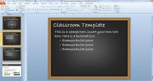 free classroom powerpoint template free powerpoint templates
