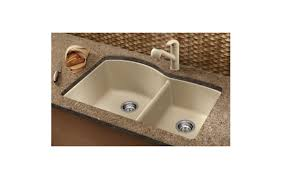 how to clean a blanco sink befon for