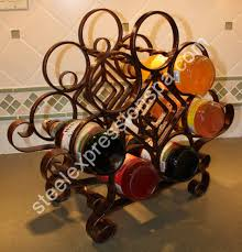 wine tables and racks wrought iron wine racks wine tables steel expressions lancaster