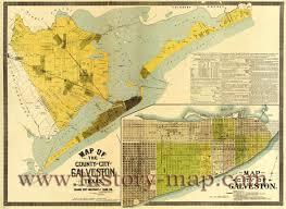 Galveston Map County