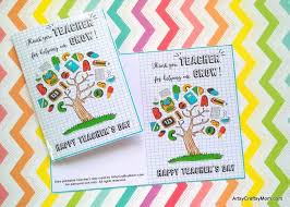 cards for s day 20 awesome teachers day card ideas with free printables
