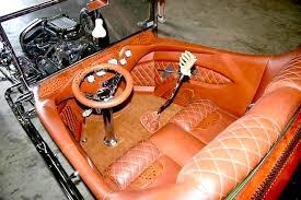 Antique Auto Upholstery Leatherseats Com U0027s Rat Fink T Bucket