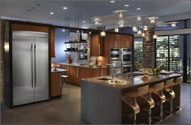 kitchen room design luxury absolute black granite countertop