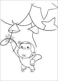 100 curious george printable coloring pages 100 ideas free