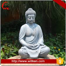 attractive outdoor buddha statue pertaining to fiberglass large