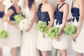 black and white bridesmaids dresses elizabeth anne designs the