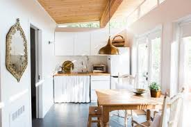 kitchens without cabinets 9 ways to organize a kitchen without many or any cabinets
