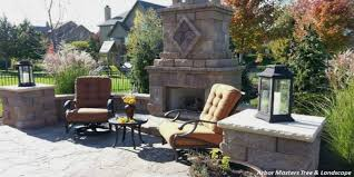 Outdoor Fire Places by Fireplaces And Fire Pits Tree Service Lawn Care And Landscape