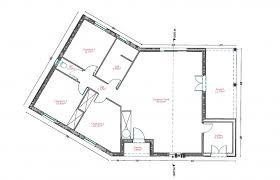 plan maison 100m2 3 chambres plan maison 80m2 2 chambres modele maison 100m2 combles plan