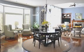 feng shui living room decorating home design