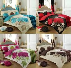 Flannelette Single Duvet Cover Polar Bear Brushed Cotton Flannelette Printed Duvet Cover Bedding