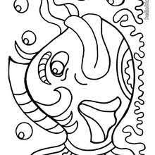 fish coloring pages 14 sea animals sea creatures coloring