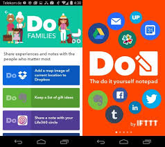 ifttt android ifttt launches three do apps for android and ios ghacks tech news