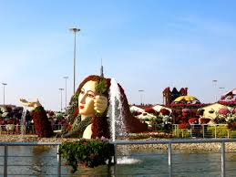 photo post dubai u0027s miracle garden an oasis in the desert she