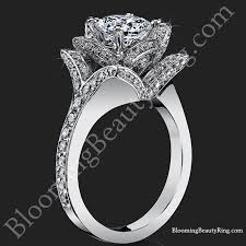 engagement rose rings images Rose flower diamond ring wedding promise diamond engagement jpg