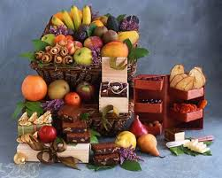 Pastry Gift Baskets Fruit Pastry And Fresh Baked Goods Basket