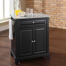 crosley alexandria kitchen island buy crosley kitchen island with granite top