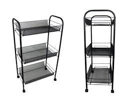 Bathroom Storage Black Bathroom Storage Trolley On Wheels Bathroom Ideas