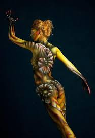 Wallpaper Bodypainting Juni 2012 Wallpapers Collection Color Painting Pictures