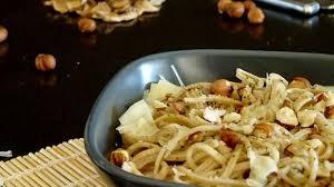 cuisiner des cepes frais spaghetti frais aux cèpes séchés recette par cuisimiam