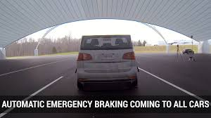 nissan to make automatic emergency braking standard in 2018 autoblog