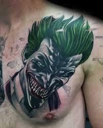 90 joker tattoos for iconic villain design ideas