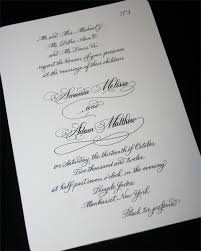 Customized Wedding Programs Calligraphy Envelopes Invitations Place Cards Artful