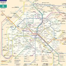 Mta Subway Map Pdf by Subway Map Paris France My Blog