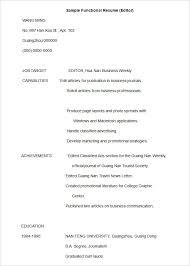 free functional resume templates download skill set resume template best 25 functional ideas on pinterest