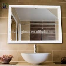 Cermin Dua Arah satu arah cermin kaca digunakan untuk teleprompter kaca 3mm satu