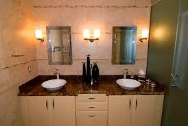 Unique Bathroom Lighting Ideas Lighting Tile Backsplash And Double Mirror With Bathroom Lighting