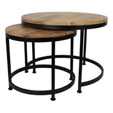 round industrial side table industrial coffee tables wayfair co uk