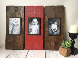 Rustic Wall Decor Wood Picture Frame Rustic Picture Frame Rustic Home Decor