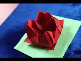 paper napkin flower tutorial christmas table setting how to fold a rose flower napkin folding