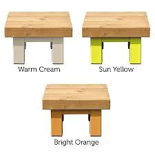 oak and iron small square coffee table by oak u0026 iron furniture