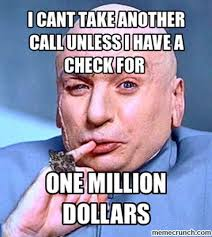 Call Center Meme - center dr evil