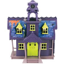 scooby doo scooby doo mystery mansion with figures toys r us