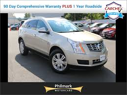2013 used cadillac srx awd panoramic sunroof rear view cam well