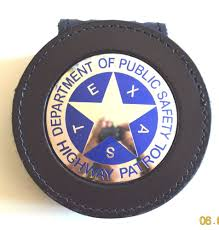 texas highway patrol badge clip on badgeholder police badge eu