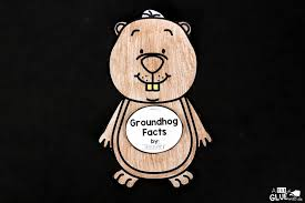 groundhog facts animal study a dab of glue will do