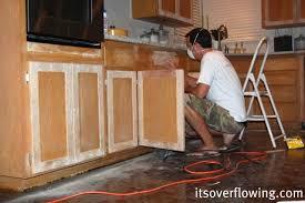 Cabinet Door Trim Kitchen Cabinet Resurface Pennies Per Door Its Overflowing