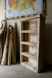 Small Rustic Bookcase Beautiful Pallet Bookcase Pallets Pallet Projects And Wood Working
