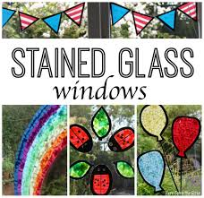 stained glass window stained glass window decorations here come the girls