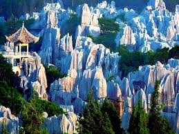 Beautiful Places On Earth by The Stone Forest Yunnan China China Beautiful Places And Asia
