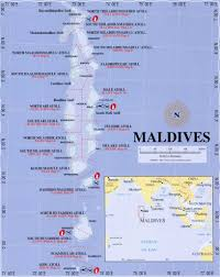 Maldives World Map by Maldives Scuba Diving Information Scuba Diving Resource