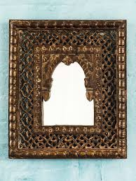 Jali Home Design Reviews Antique Jali Indian Wooden Mirror Bringing It All Back Home