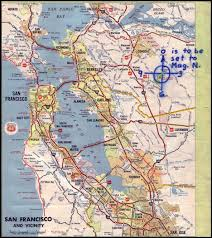 San Francisco Ca Map by Zodiac Killer Facts The Mt Diablo Map