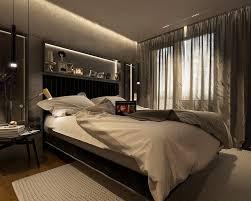 decor de chambre a coucher chetre decoration murs béton parquet chêne massif chambre coucher adulte