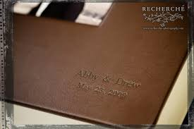 leather wedding albums heirloom wedding photography finished album leather craftsmen