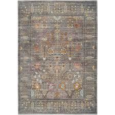 safavieh valencia grey multicolor rug 8 u0027 x 10 u0027 overstock com